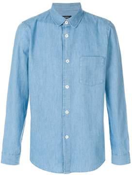 A.P.C. Stitch denim shirt