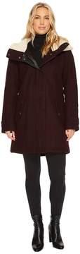 Andrew Marc Rachelle 34 Pressed Wool Coat Women's Coat