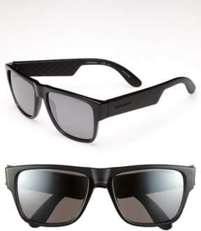 Carrera Men's Eyewear '5002' 55Mm Sunglasses - Transparent Grey/ Silver