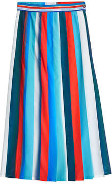 Stella Jean Striped Skirt
