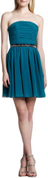 Erin Fetherston Strapless Fit-and-Flare Dress