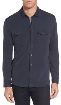 Michael Bastian Men's Trim Fit Pima Cotton Knit Sport Shirt