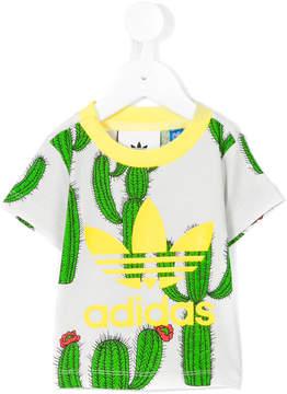 Mini Rodini Adidas X cactus print T-shirt