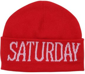 Alberta Ferretti Saturday Wool & Cashmere Knit Hat