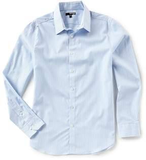 Murano Slim-Fit Stripe Long-Sleeve Woven Shirt