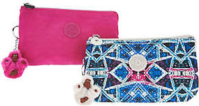 Kipling Nylon Set of 2 Expandable Clutches - Creativity L - ONE COLOR - STYLE