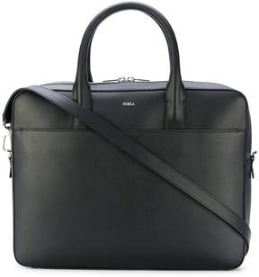 Furla slim-line laptop bag
