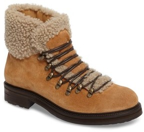Alberto Fermani Women's Evia Genuine Shearling Lined Boot