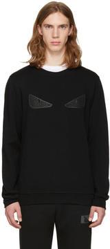 Fendi Black Bag Bug Pullover