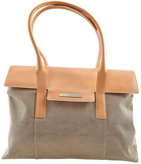 Bulgari Beige Cloth Handbag