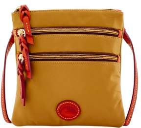 Dooney & Bourke Nylon North South Triple Zip Shoulder Bag - KHAKI - STYLE