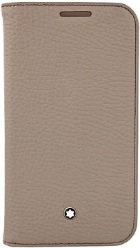 Montblanc Meisterstuck Beige Soft Grain Leather Case for Samsung Galaxy 4 -
