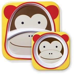Skip Hop Monkey Zoo Plates