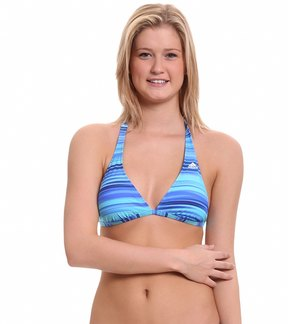 adidas Women's Gradient Stripe Halter Top 7538857