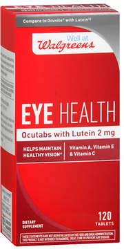 Walgreens Eye Health Ocutabs with Lutein 2mg, Tablets