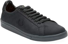 Fred Perry Men's Leather Low-Top Sneaker