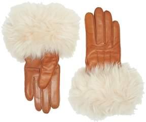 UGG 3PT Long Toscana Trim Smart Gloves Extreme Cold Weather Gloves