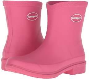Havaianas Galochas Low Matte Rain Boot Women's Rain Boots