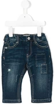 Emporio Armani Kids distressed jeans