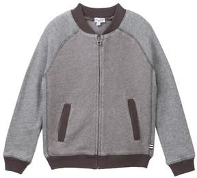 Splendid Birdseye Knit Jacket (Toddler Boys)