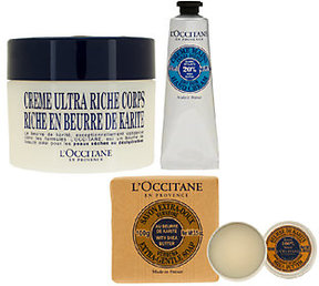 L'Occitane Shea Ultra Rich 4 piece Bath & Body Collection