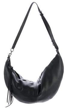 Rebecca Minkoff Pebbled Leather Hobo - BLACK - STYLE