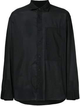 Issey Miyake classic plain shirt