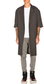 Fear Of God Wool Striped Overcoat