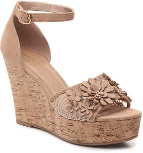 Bamboo Women's Scorpio-31 Wedge Sandal