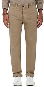 Massimo Alba Men's Cotton-Cashmere Flat-Front Trousers