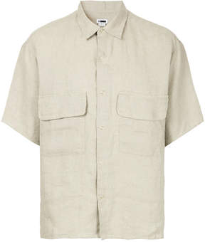 H Beauty&Youth short-sleeve fitted shirt
