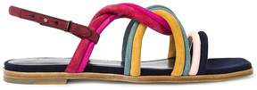 Paul Smith Multi-coloured Suede carlin Sandals