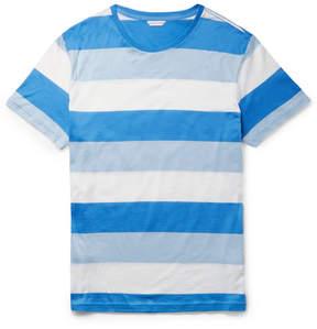 Orlebar Brown Sammy Slim-Fit Striped Cotton-Jersey T-Shirt
