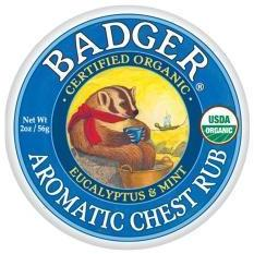 Aromatic Chest Rub by Badger (2oz Balm)