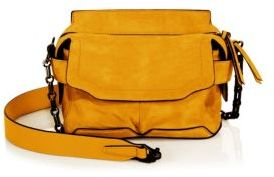 Rag & Bone Micro Pilot Suede Crossbody Bag