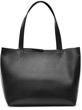 Broadway Structured Leather Tote