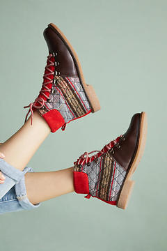 Anthropologie Hiker Boots