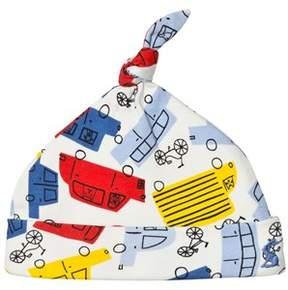 Joules Multi Colour Car Print Hat
