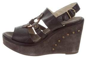 Fiorentini+Baker Platform Leather Wedges