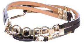 Max Mara Embellished Waist Belt