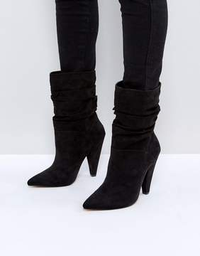 Asos EMERSON Slouch Heeled Boots