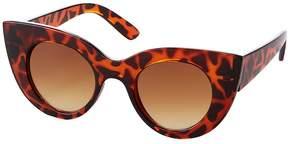 Charlotte Russe Tortoise Shell Cat Eye Sunglasses