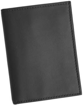 Royce Leather Double ID Flip Credit Card Wallet