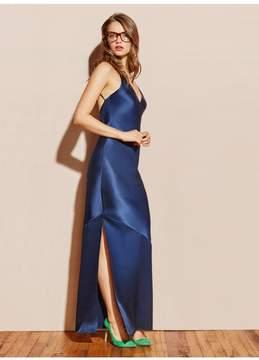 Fleur Du Mal | Silk Bias Gown | L | Blue