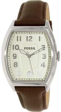 Fossil Narrator FS4880 White Dial Watch