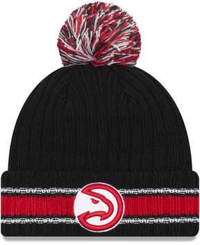 New Era Atlanta Hawks Basic Chunky Pom Knit Hat
