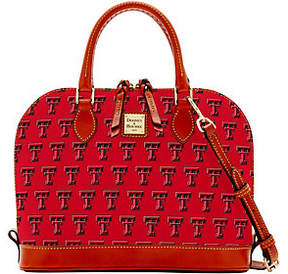 Dooney & Bourke NCAA Texas Tech University ZipZip Satchel - ONE COLOR - STYLE