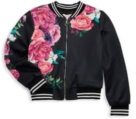 Hannah Banana Little Girl's& Girl's Floral Jacket