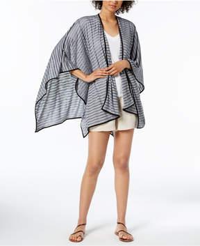Calvin Klein Striped Sporty Shawl