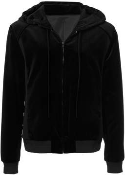 Juun.J drawstring hooded jacket